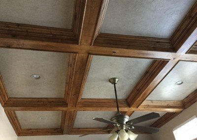 Installed by Brett K. Lynn Construction finish work.
